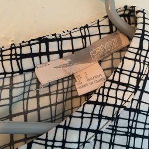 Black & White Striped Blouse